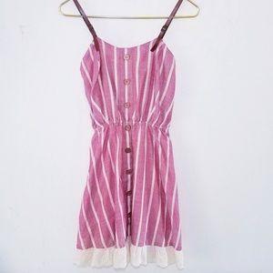 ❤ 4 for $25❤ striped Festival Farm dress Small